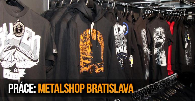 PRÁCE SNŮ: Hledáme posily do prodejny v Bratislavě!