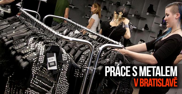 PRACOVNÍ ŠANCE: Hledáme posily do prodejny v Bratislavě!